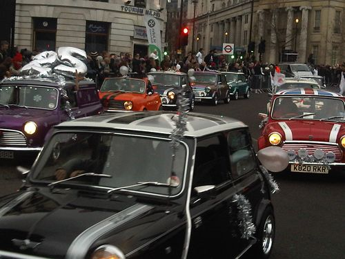 Minis at New Years Day Parade