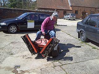 Lawn Mower Racing