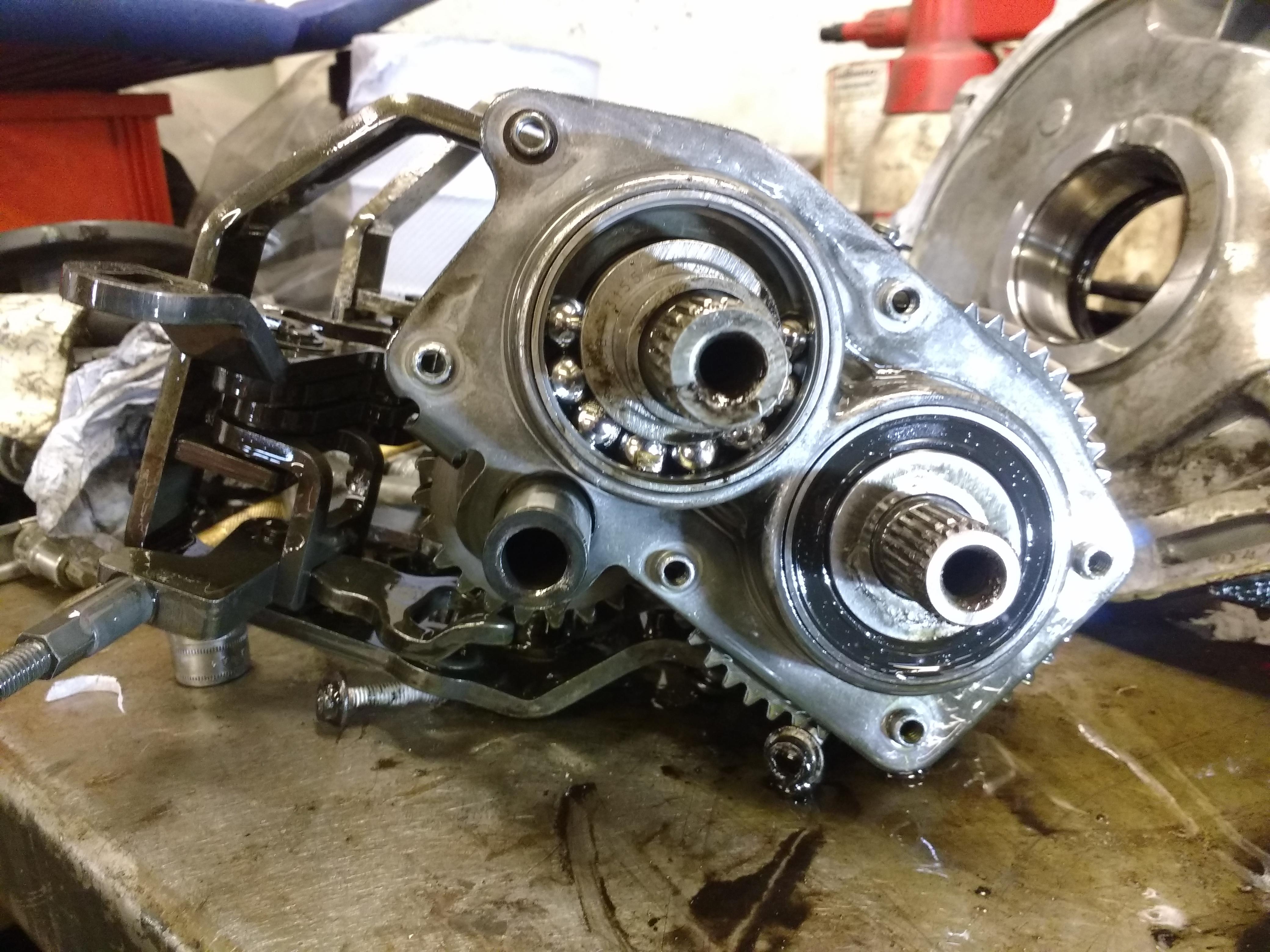 Ti Motorsport: Workshop