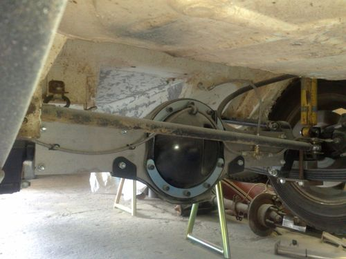 Escort Rear Axle